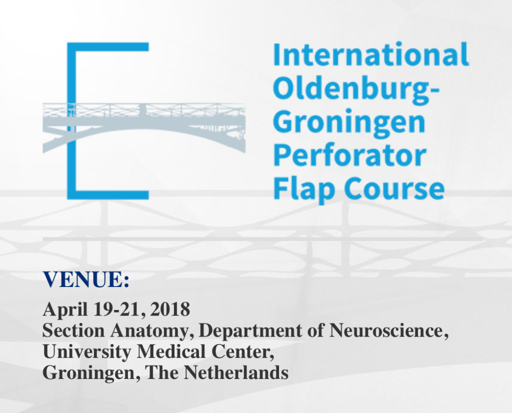International Oldenburg - Groningen Perforator Flap Course